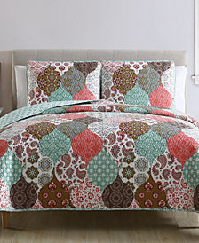VCNY Home Wonderland Reversible 2-Pc. Twin Quilt Set