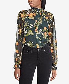 Lauren Ralph Lauren Floral-Print Blouse