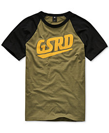 G-Star RAW Men's Raglan Logo T-Shirt
