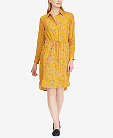 Ralph Lauren Petite Floral-Print Shirtdress