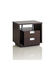 Rowun 2 Drawer End Table