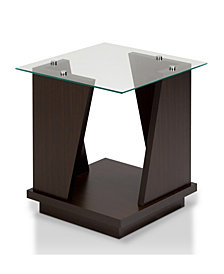 Miley Modern Glass End Table
