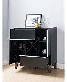 Jule Modern Storage Wine Bar And Cabinet