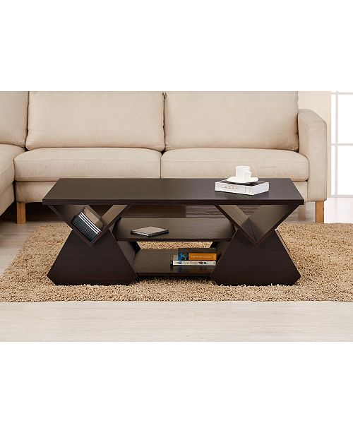 Marvelous Annabelle Contemporary Coffee Table Gmtry Best Dining Table And Chair Ideas Images Gmtryco