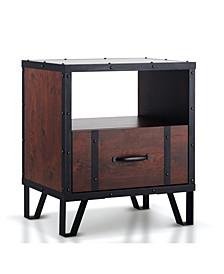 Dahlia 1 Drawer End Table