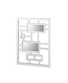 Mira White Wall Mirror