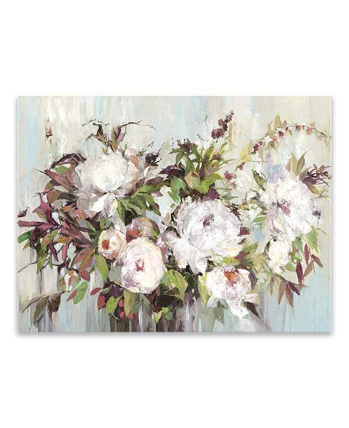 Artissimo Designs Soft Posy Hand Embellished Canvas