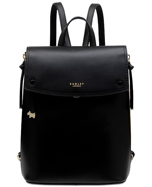 0d18d63a500a Radley London Small Flapover Leather Backpack   Reviews ...