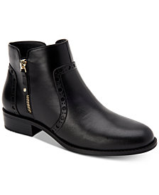 Giani Bernini Nieves Memory Foam Ankle Booties, Created For Macy's
