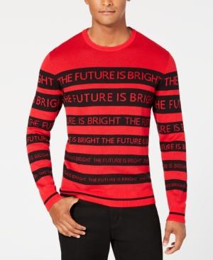 Alfani Men's Text Stripe...
