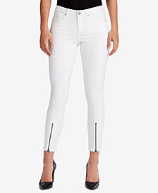 WILLIAM RAST Zippered-Hem Skinny Jeans