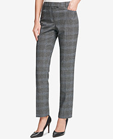 Tommy Hilfiger Plaid Princeton Slim-Fit Pants
