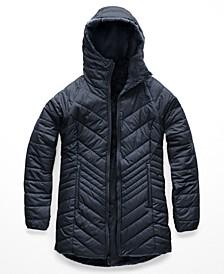 Women's Mossbud Hooded Fleece-Lined Reversible Parka
