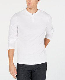 Alfani Men's Henley, Created for Macy's