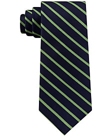 Tommy Hilfiger Men's Exotic Stripe Silk Tie