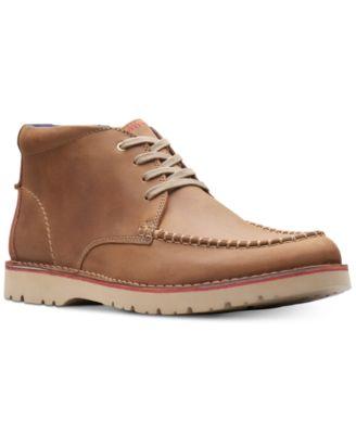 Men\u0027s Vargo Apron,Toe Leather Chukka Boots, Created for Macy\u0027s