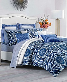 Samba De Roda Blue Aster Twin Duvet Set