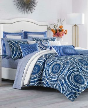 Trina Turk Samba De Roda Blue Aster Twin Duvet Set Bedding 6245804