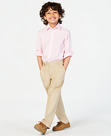 Tommy Hilfiger Stretch Fine Twill Pants, Little Boys