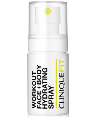 CliniqueFIT Workout Face + Body Hydrating Spray, 1-oz.