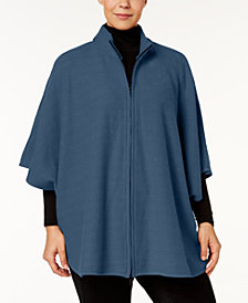 Anne Klein Plus Size Poncho Sweater