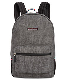 Tommy Hilfiger Men's Alexander Heathered Backpack