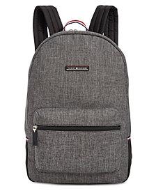 Tommy Hilfiger Men's Alexander Heathered Backpack