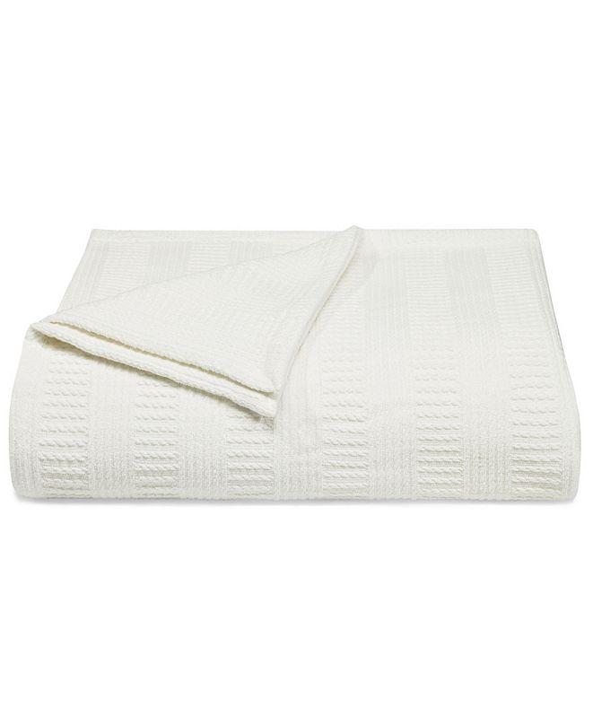 Nautica Rope Stripe Twin Blanket