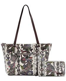 Sakroots Tote and Wallet Set