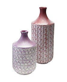 Woven Vases- Set of 2