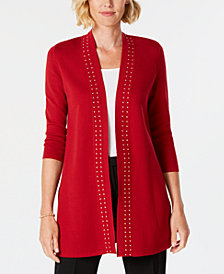 Kasper Cardigan Sweater Jacket