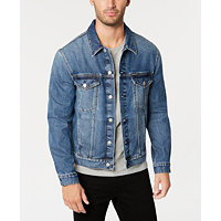 Deals on Calvin Klein Jeans Mens Classic Denim Trucker Jacket