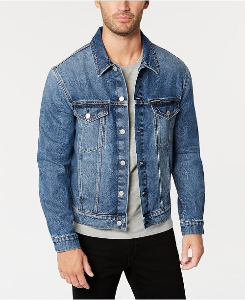 Men's Classic Denim Trucker Jacket