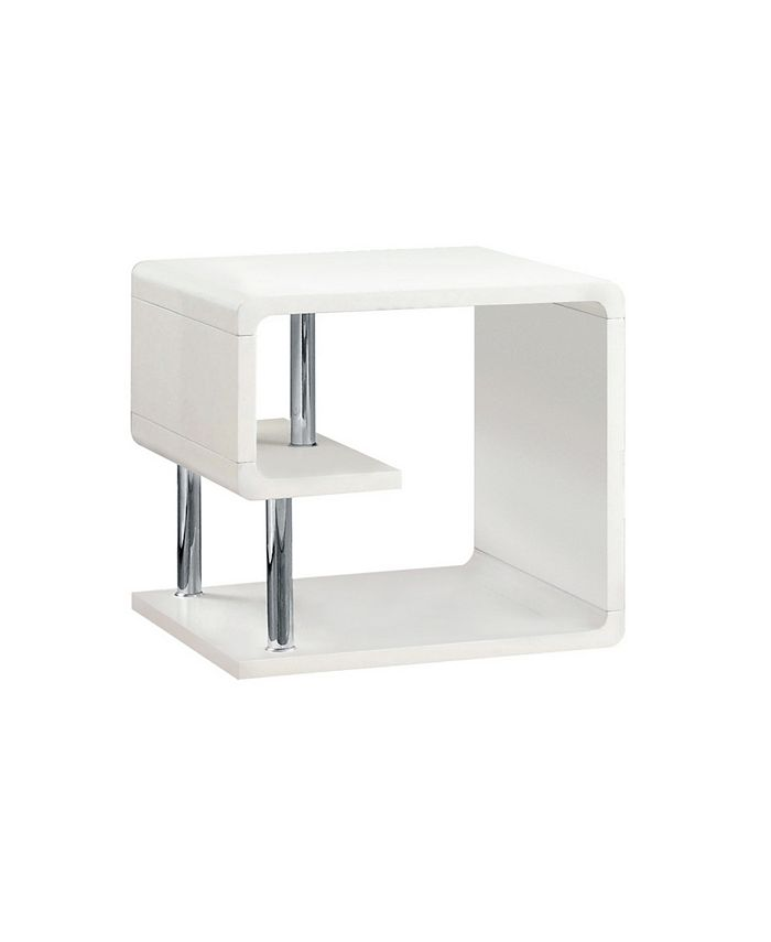 Furniture of America - Lazer End Table, Quick Ship