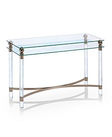 Bolynn Glass Top Side Table