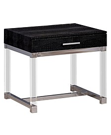 Romano Black End Table
