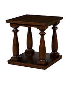 Rominoff End Table, Quick Ship