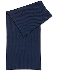 BOSS Men's Ribbed Scarf