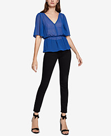 BCBGeneration Twist V-Back Top
