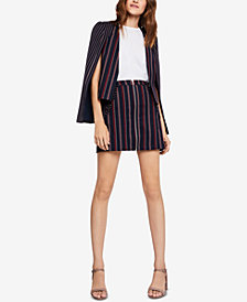 BCBGeneration Striped Cape Blazer