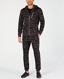 I.N.C. Camo Hoodie & Camo Jogger Pants, Created for Macy's