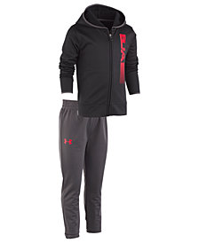 Under Armour Toddler Boys 2-Pc. Cross Check Hoodie & Jogger Pants Set