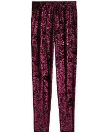 Epic Threads Big Girls Velvet Leggings, Created for Macy's