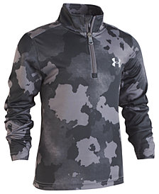Under Armour Toddler Boys Traverse Camo-Print 1/4-Zip Shirt