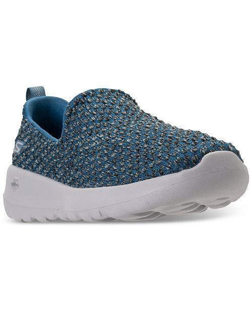 783705f3b0e5 ... Skechers Women s GOwalk Joy - Soothe Walking Sneakers from Finish ...