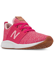 New Balance Little Girls' Fresh Foam Sport V1 Running Sneakers from Finish Line