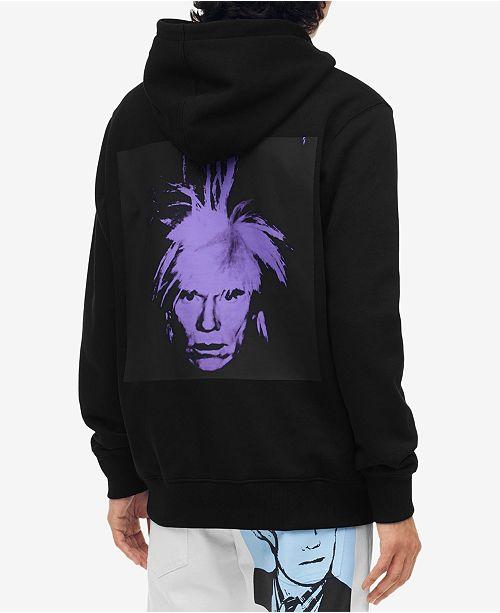 Preis vergleichen helle n Farbe Outlet Store Verkauf Calvin Klein Jeans Men's Warhol Portrait Hoodie & Reviews ...