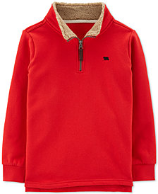Carter's Little and Big Boys Half-Zip Fleece Pullover