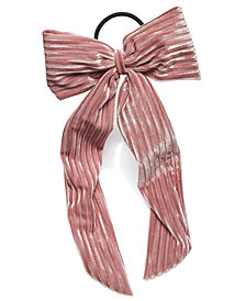 I.N.C. Big Bow Ponytail Holder, Created for Macy's