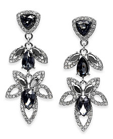 I.N.C. Crystal Open-Work Drop Earrings, Created for Macy's
